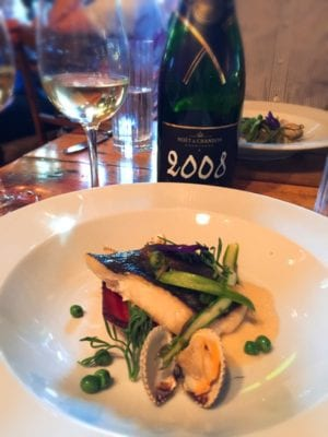 The Finnieston Moet Chandon dinner glasgow