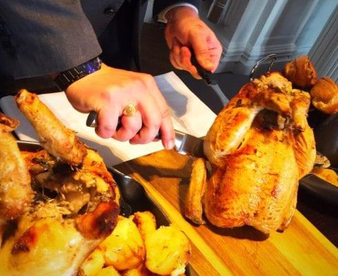 Blythswood square Sunday roast