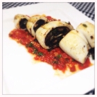 Recipe: Squid stuffed with black pudding