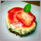 Recipe: Baked Vanilla Cheesecake with Strawberries