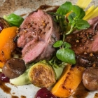 Recipe:  St Andrew's Day Lamb with Brussels and Chestnuts