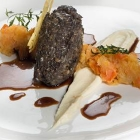 Haggis, Neeps and Tatties starter from Gleneagles Hotel