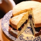 Recipe: Victoria Sponge with Blackberries and Spiced Cream from Hairy Bikers