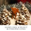 Recipe: Easy Christmas Chocolate Pine Cones