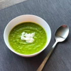 Courgette and Pea Soup Recipe