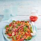 Recipe: Sweet and Sour Scottish Beef Salad from Tony Singh and Lidl