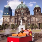 Berlin horizontal bed-bike tour!