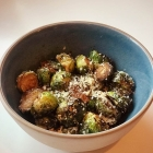 Recipe: Air Fryer Crispy Parmesan Brussels Sprouts