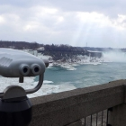 Visiting Niagara Falls, Canada in winter