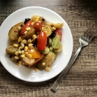 Recipe : Hot potato and tomato salad