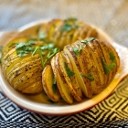 Recipe : Hasselback Roast Potatoes