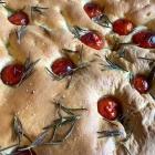 Recipe : Tomato, Garlic and Rosemary Focaccia