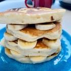 Vegan pancakes made with OGGS recipe