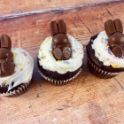 Kit Kat Bunny Muffins Recipe