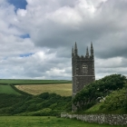Morwenstow Church, Cliff & Tearoom, Cornwall