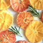 Maple syrup and rosemary caramelised oranges Recipe