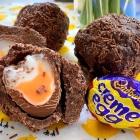 Creme Egg Scotch Egg
