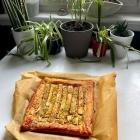 Rhubarb and Pistachio Tart Recipe