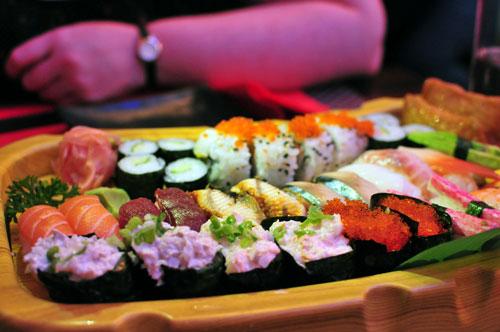 nippon kitchen sushi platter