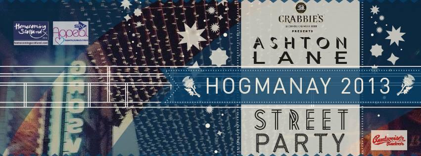 Hogmanay Party – Ashton Lane, Glasgow – Tickets on sale
