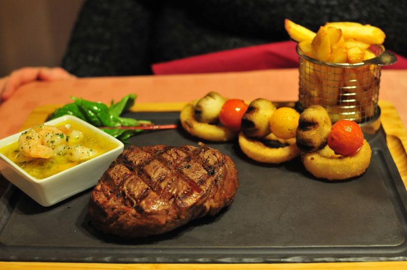 Elphinstone Hotel fillet steak