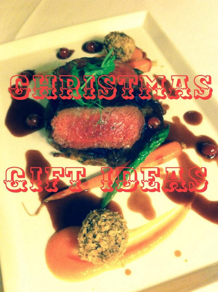 Christmas Gift Ideas from Glasgow and Edinburgh Restaurants