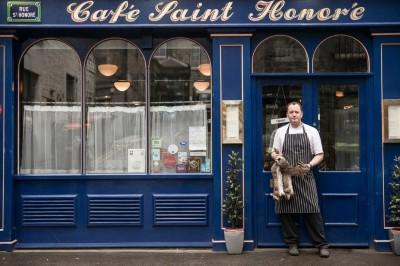 Cafe saint honore outside image edinburgh food blog glasgow food blog