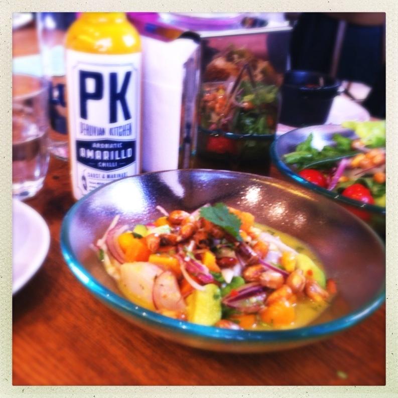 Andina Peru Peruvian london shoreditch Redchurch food drink Glasgow blog east end