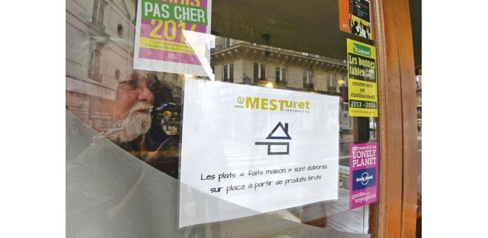 Home made Fait Maison France sign