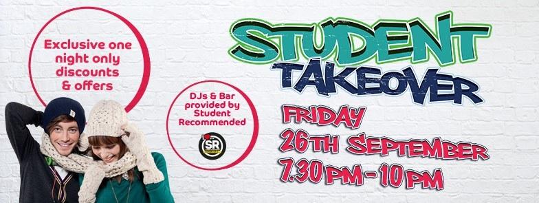 Student takeover Buchanan galleries Glasgow