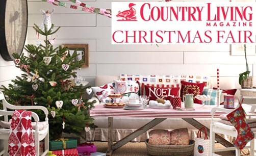 Country Living Christmas Fair 20 To 23rd Nov