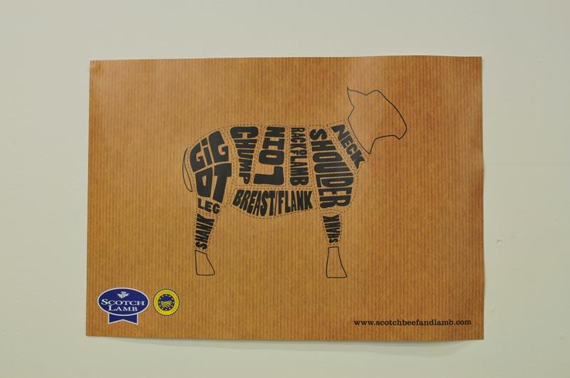 SWG3 Scotch Lamb Festival - poster