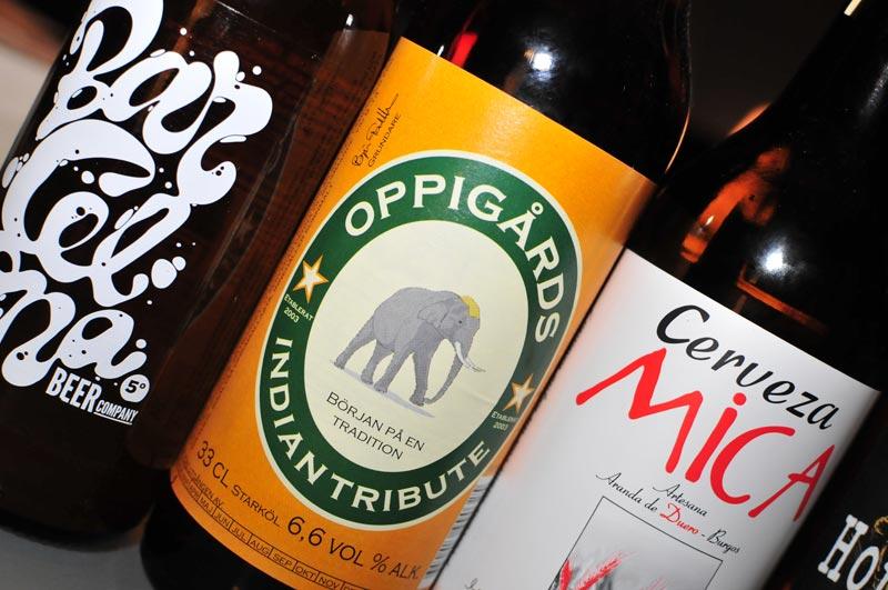 Selection of Beer52 bottled beers