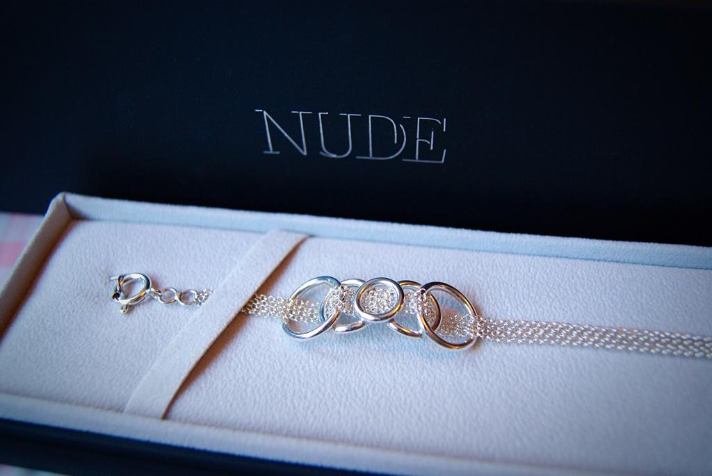 Nude jewellery Nikki Galloway vanilla links