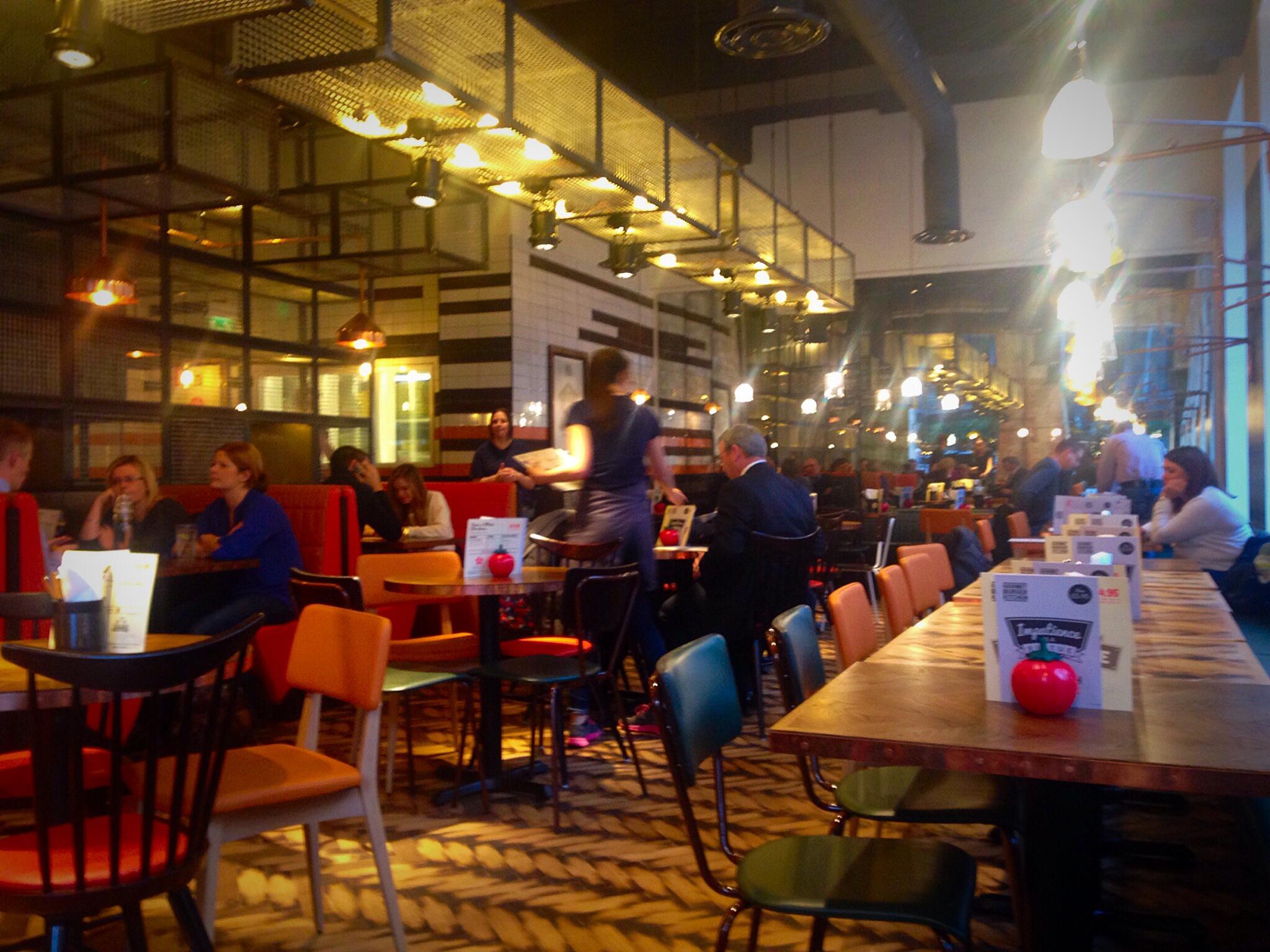 Gourmet Burger Kitchen Edinburgh Review