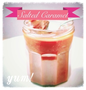 Christmas Gift or Treat – Salted Caramel Sauce Recipe