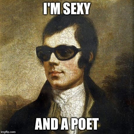 25th January burns night