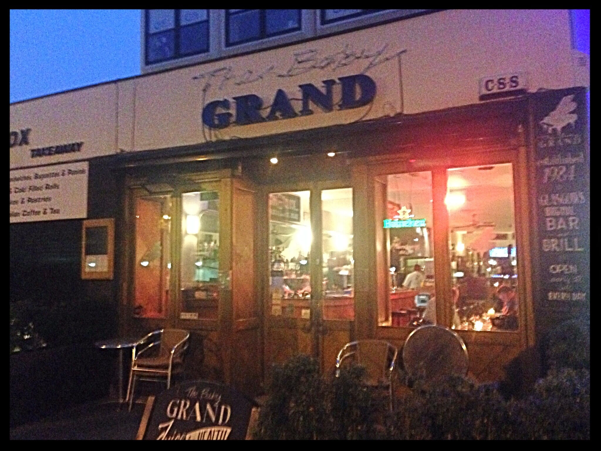 Drink Review: The Baby Grand, 3-7 Elmbank Gardens, Glasgow G2 4NQ ...