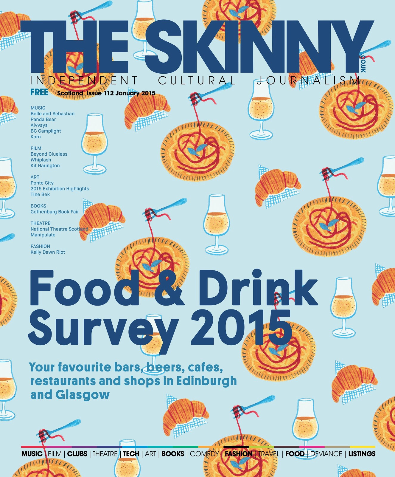 News – The Skinny Food & Drink Survey Results, Butterfly flies South and more