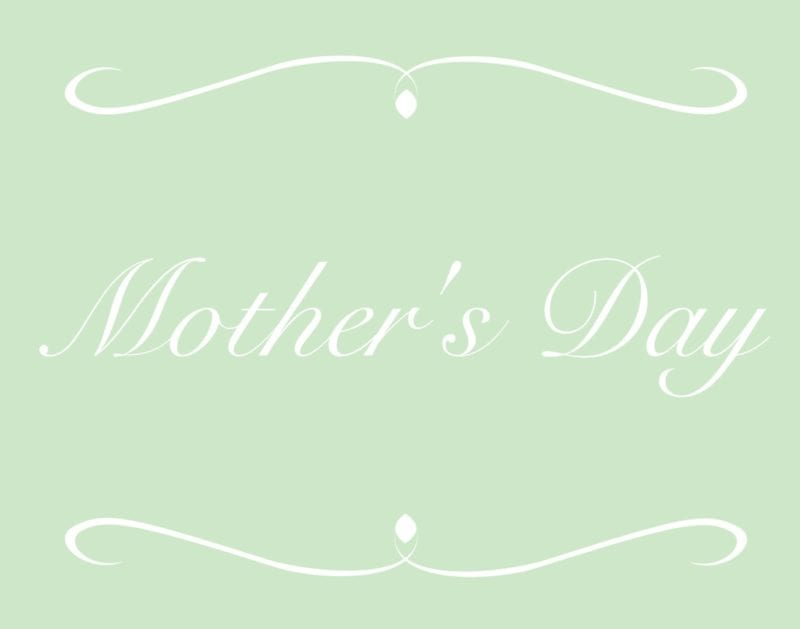 Mother's Day scotland blog