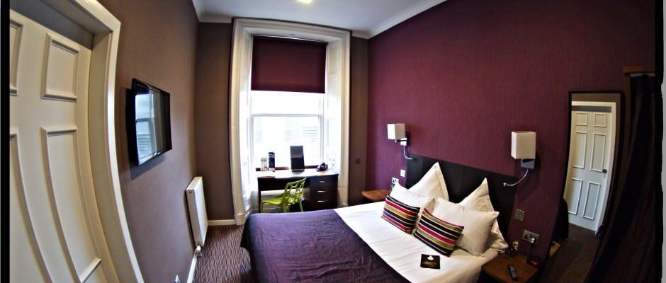 bedroom carmelite hotel aberdeen scotland