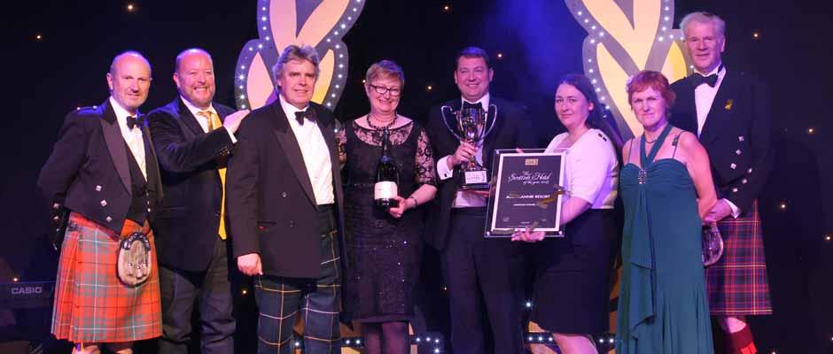 Scottish Hotel Awards - Auchrannie resort - winner of best hotel