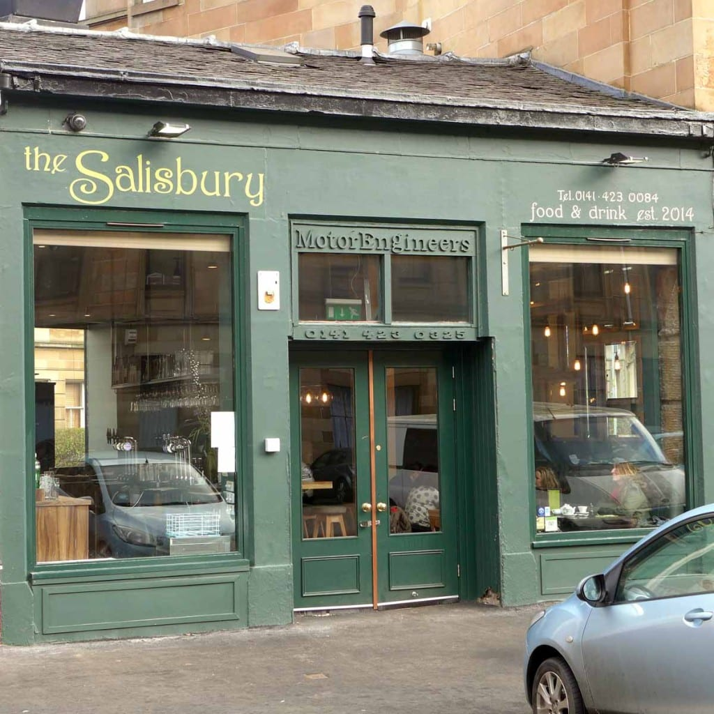 The Salisbury Bar - exterior