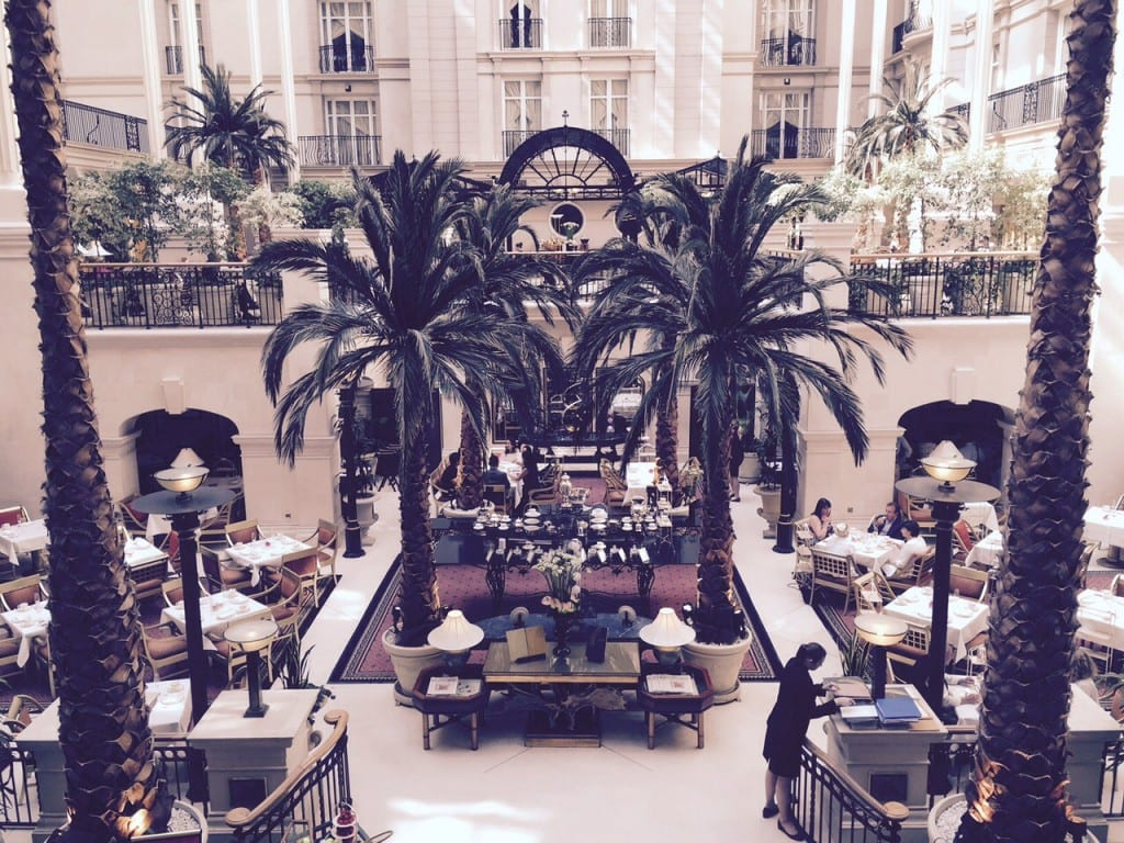 landmark hotel london afternoon tea