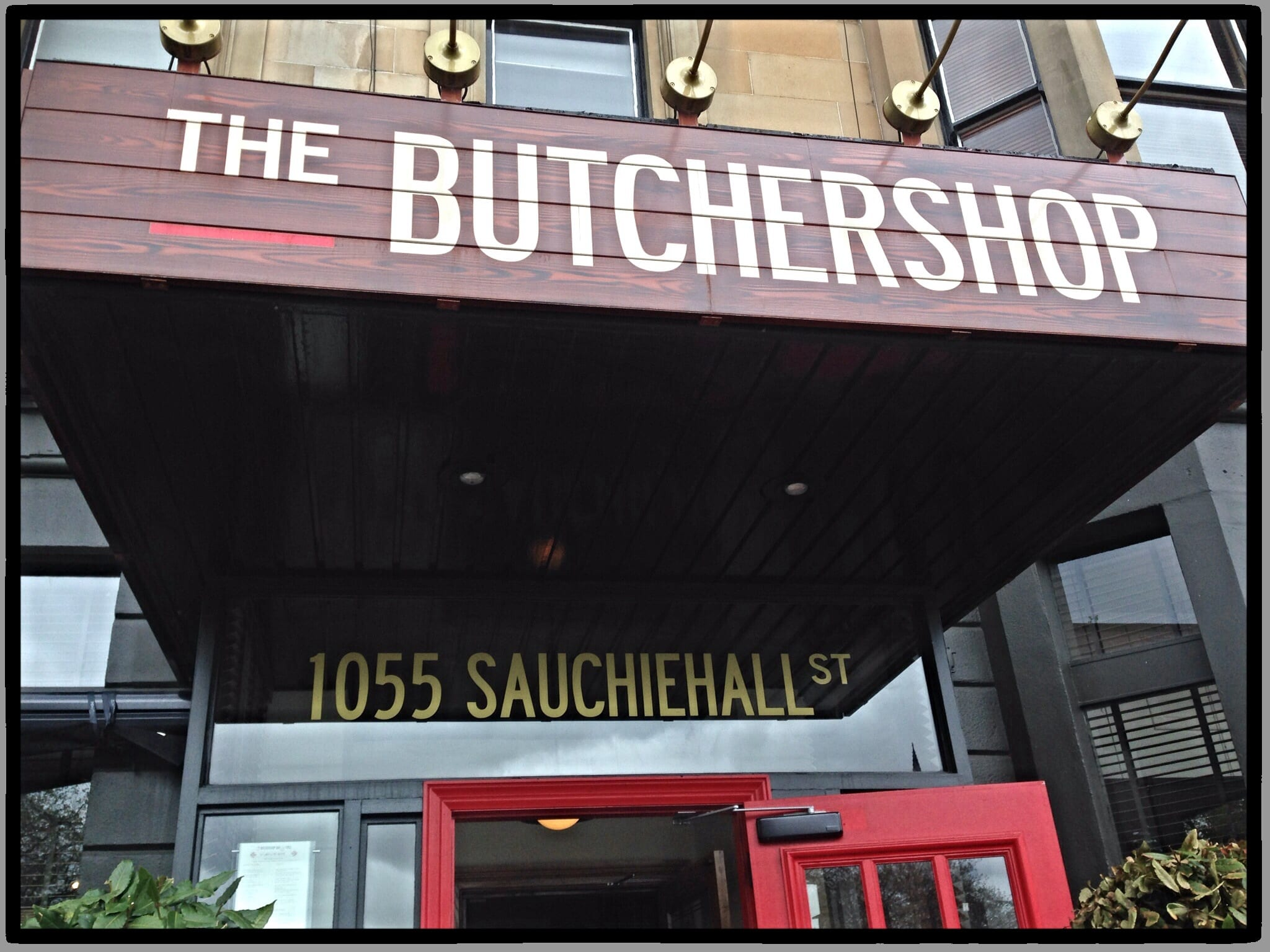 Food Review: Butchershop Bar & Grill, 1055 Sauchiehall Street, Glasgow, G3 7UD
