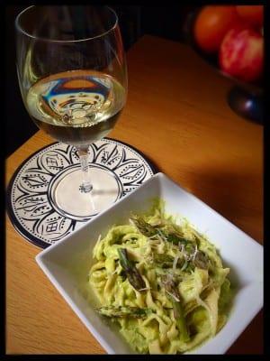 asparagus cream pasta recipe