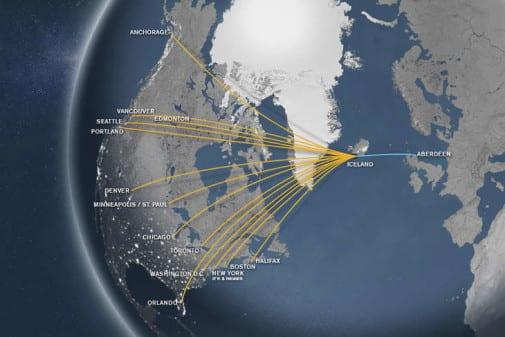 Icelandair aberdeen to rejkyavik glasgow foodie exploreres