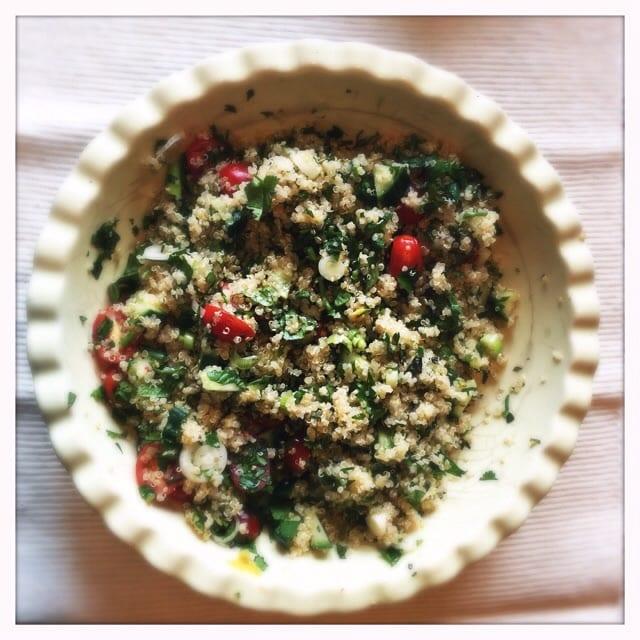 Recipe: Herby Quinoa