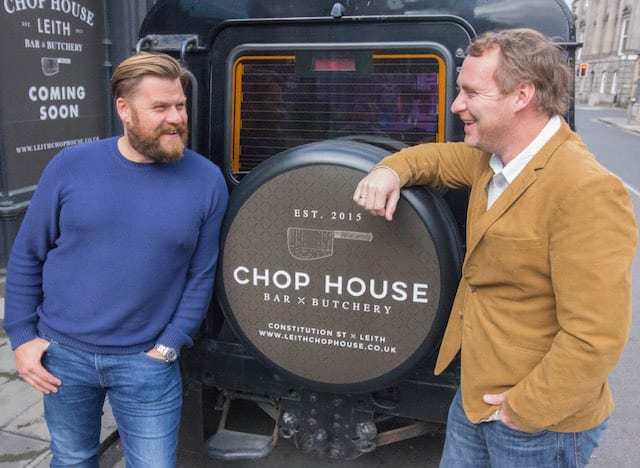 Leith Chop House Mark Fraser and Michael Spink copy