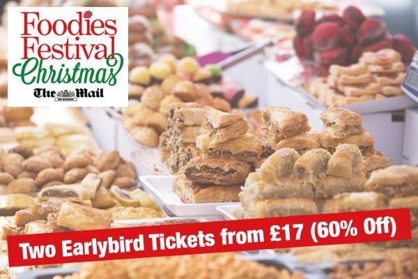foodies festival edinburgh christmas